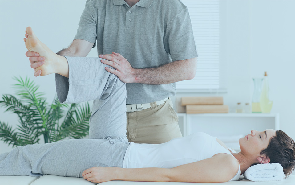 Chiropractor Working With A Customer